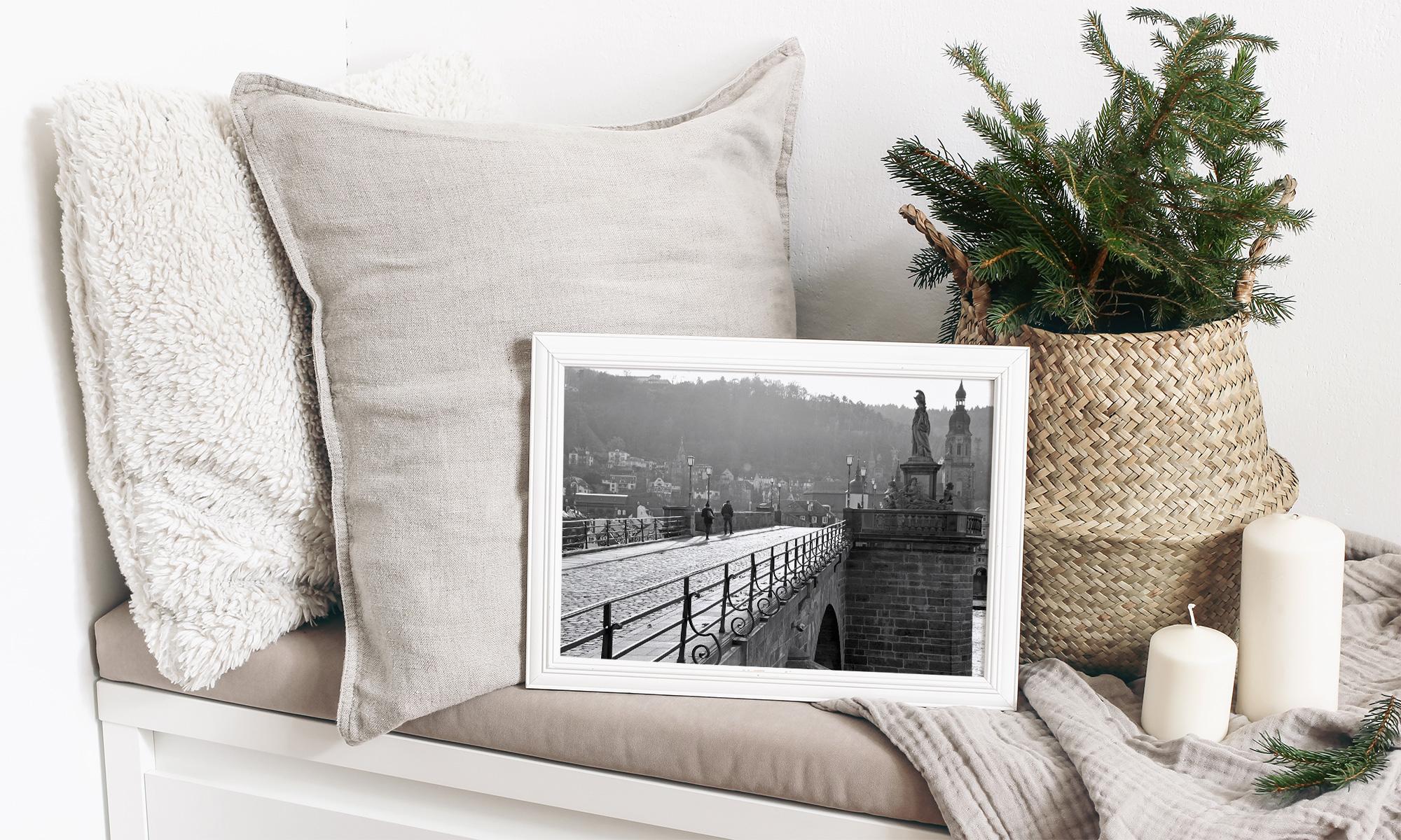 Wandbild Fotodruck Papiermanufaktur Bensheim
